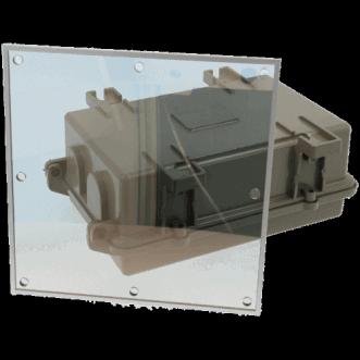 9910 - Transparent EMI / RFI-aizsarggāzes folija logi
